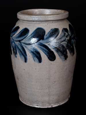 Small-Sized H. MYERS (Baltimore, MD) Stoneware Jar, Stamped