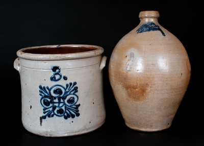 Lot of Two: Pieces of American Stoneware