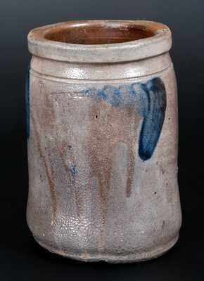 SOLOMON BELL / STRASBURG, VA Decorated Stoneware Jar