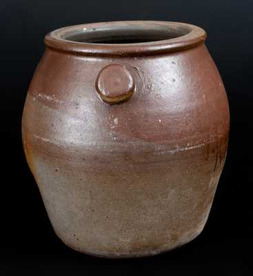 Tennessee Stoneware Flowerpot, probably Wm Grindstaff, Knoxville