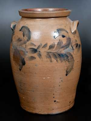 Four-Gallon Stoneware Jar att. David Parr, Richmond, VA, circa 1855