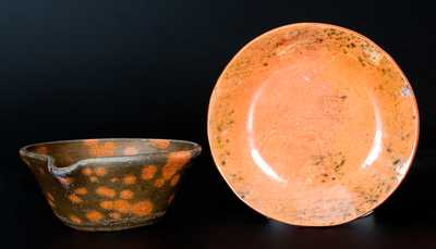 Two Pieces of Jugtown Pottery, North Carolina