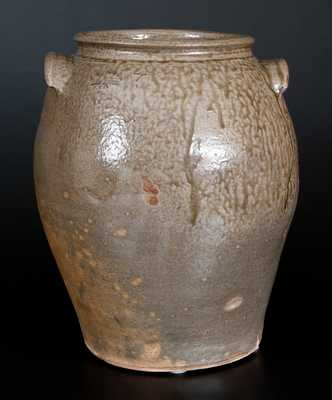Fine J.W.S. & CO. / PINE HOUSE, / S.C. Stoneware Jar, John W. Seigler, Shaw's Creek, Edgefield District, SC