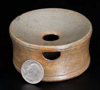 Miniature Stoneware Spittoon att. J. Swank & Co., Johnstown, PA