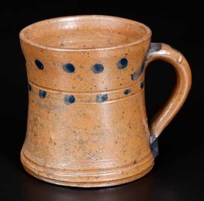 Very Rare Small Stoneware Mug attrib. C. F. Decker (Chucky Valley, TN)