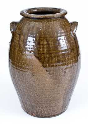 Nelson Bass, Lincoln County, NC Alkaline-Glazed Stoneware Jar
