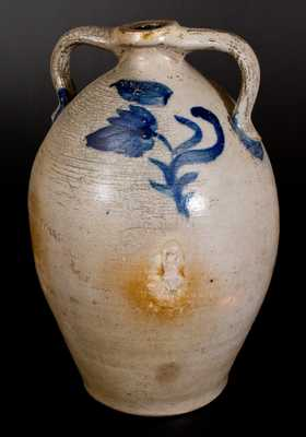 Five-Gallon P.H. SMITH, Summit County, Ohio Double-Handled Stoneware Jug