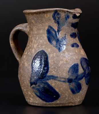 Extremely Rare Diminutive James River Basin of Virginia Stoneware Pitcher
