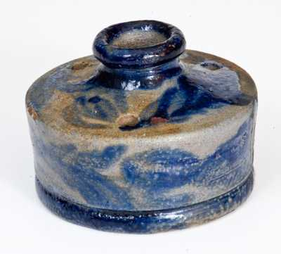 Baltimore, MD Stoneware Inkwell w/ Profuse Decoration