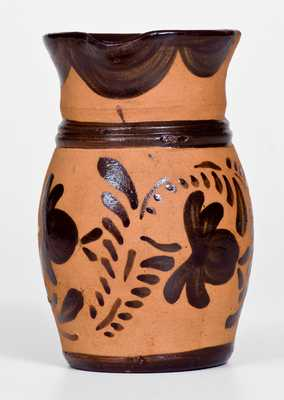 Small-Sized Tanware Pitcher, New Geneva, PA, circa 1880