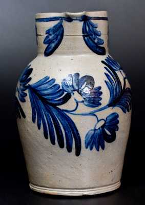 Baltimore Stoneware Pitcher w/ Profuse Decoration