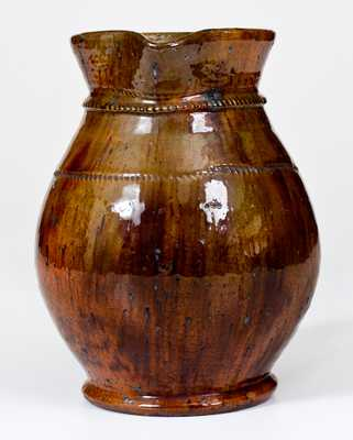 Jacob Medinger Redware Pitcher