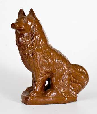 Scarce SUPERIOR CLAY CO. / UHRICHSVILLE, OH Sewertile Dog Figure