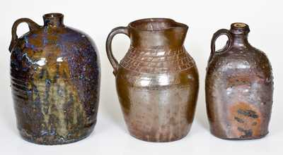 Lot of Three: Southern Stoneware Vessels