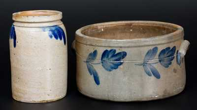 Lot of Two: Mid-Atlantic Stoneware