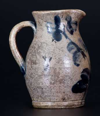 Fine Miniature Stoneware Pitcher, Baltimore, circa 1860