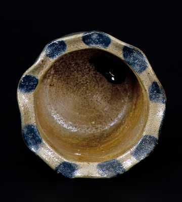 Very Fine Miniature Stoneware Jar att. Charles F. Decker, Chucky Valley, TN