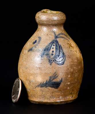 Northeastern US Stoneware Salesman's Sample Jug
