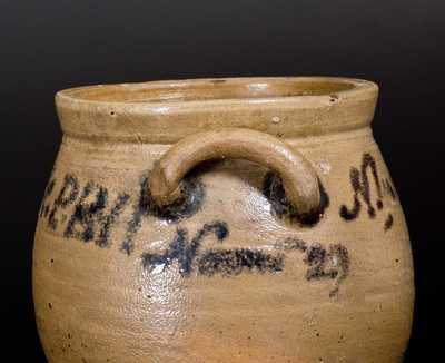 Important Stoneware Jar Inscribed