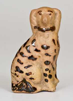 Unusual Miniature Tanware Spaniel, Greensboro or New Geneva, PA