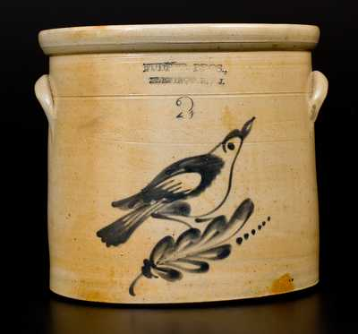 FULPER BROS., / FLEMINGTON, N.J. Stoneware Bird Crock