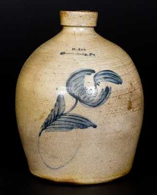 Ack Pottery (Moorseburg, PA) Collection incl. Stoneware Jug, Billhead and Personal Photos