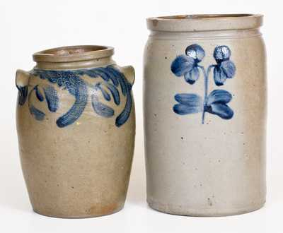 Two Pieces of Baltimore, MD Stoneware, circa 1840-1880