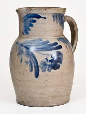1 Gal. Baltimore, MD Stoneware Pitcher with Floral Decoration