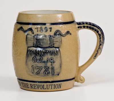 KANSAS CITY CHAPTER SONS OF THE REVOLUTION Whites Utica Stoneware Mug