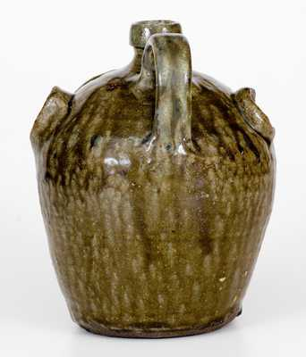 Exceptional Edgefield, South Carolina, Stoneware Face Jug