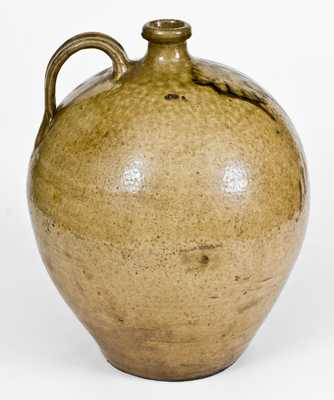 Unusual attrib. Thomas Chandler, Edgefield District, SC Stoneware Jug