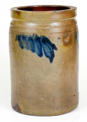 Very Rare Trees Point Pottery, Charles City County, VA Stoneware Jar