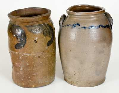 Lot of Two: Richmond, VA Area Stoneware Jars