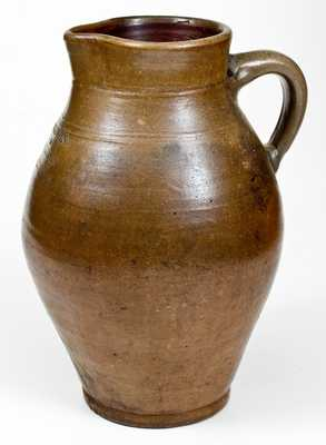 2 Gal. GOODWIN & WESBTER, Hartford, CT Stoneware Pitcher