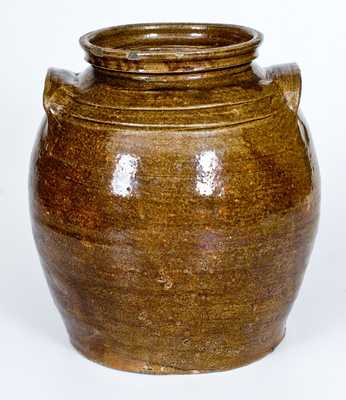 2 Gal. Alkaline-Glazed Stoneware Jar att. Dave, Edgefield District, SC