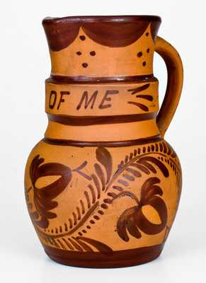 Very Rare Tanware Pitcher , Inscribed