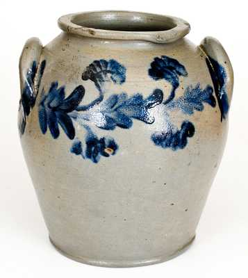 Two-Gallon Henry Harrison Remmey, Philadelphia Stoneware Jar, c1835