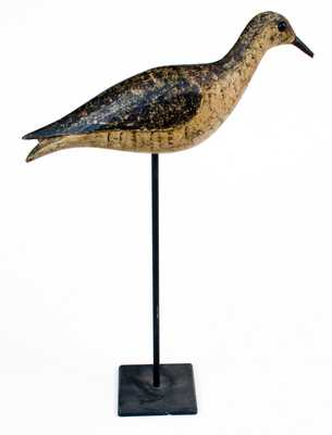 Massachusetts Shorebird / Yellowlegs Decoy, late 19th Century