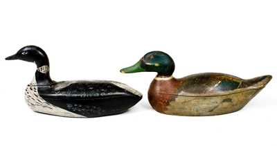 Two American Waterfowl Decoys