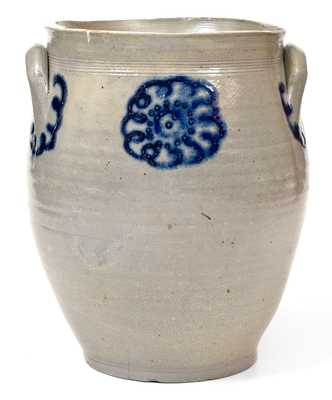 Early Hudson Valley, New York Stoneware Jar
