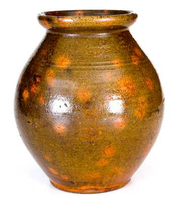 New England Redware Jar