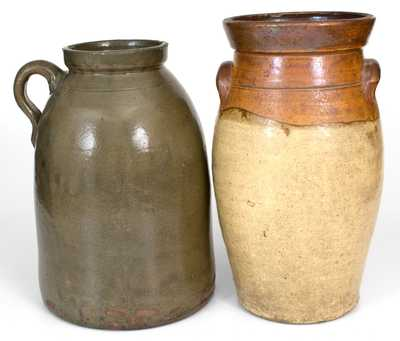 Lot of Two: Alabama 2 Gal. Stoneware Pieces