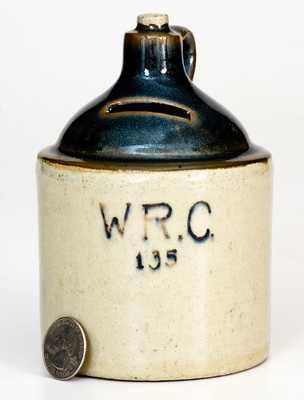 Early 20th Century WRC (Women's Relief Corps) Jug Bank, probably Iowa origin