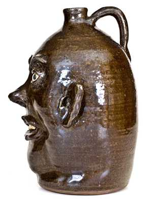 Lanier Meaders Face Jug, circa 1970 s