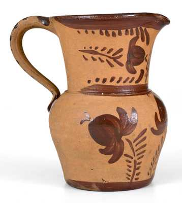 Outstanding Small-Sized New Geneva, PA Tanware Pitcher