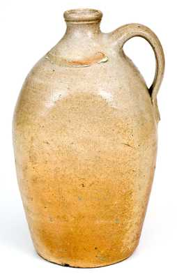 Rare and Important African-American W. JONES, Tuscaloosa Co, Alabama Stoneware Jug