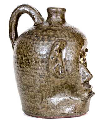 Fine Early Lanier Meaders (Cleveland, Georgia) Face Jug