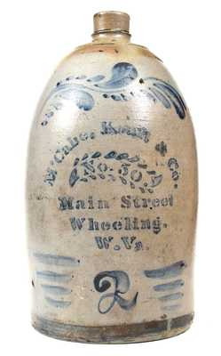 McCabe, Kraft & Co. / Wheeling, W. VA Advertising Jug