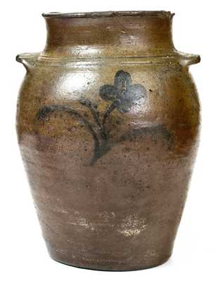 1 Gal. Stoneware Jar, James River Valley or possibly Rockbridge County, VA, c1825