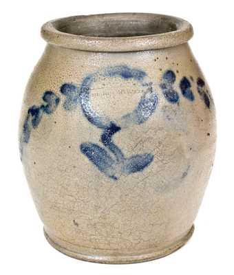 HUGH SMITH & CO. Stoneware Jar by Enslaved Potter, Thomas Valentine